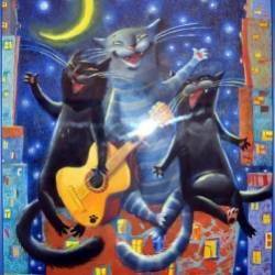 Гитарина-Про весну и котов