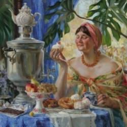 Сергей Мошков-Зреет мята в чайнике