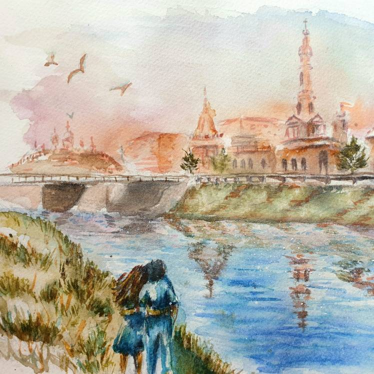 Тина Светлячок - На березі Лопані