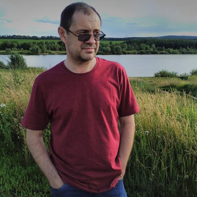 Владислав Штиль-Старик и собака