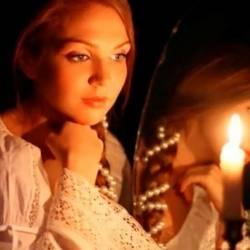 Сергей Мошков-Святки Гадание при свечах