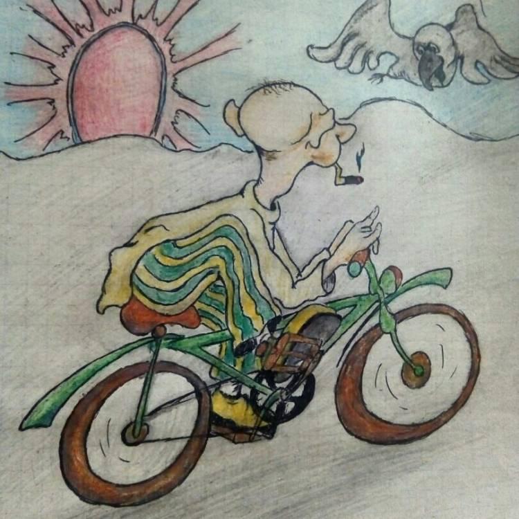 ДвиЖЖение ЯШ (тогда просто АГУ и ЯШ) - На велосипеде